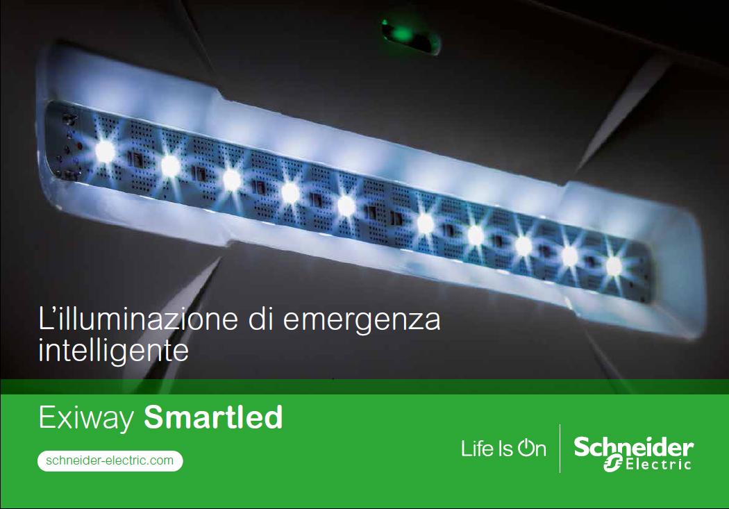 Exiway smartled è l illuminazione di emergenza