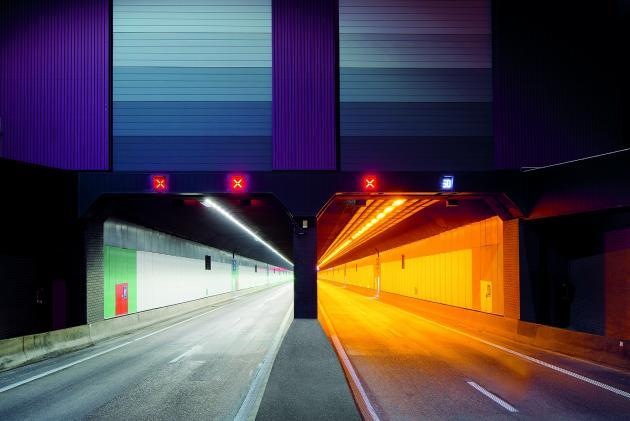 Illuminazione tunnel for Illuminotecnica led